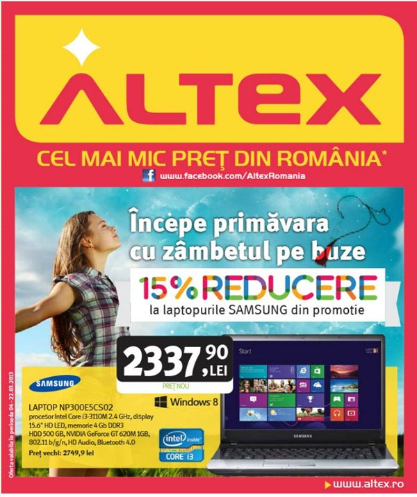 Vedeti aici catalogul Altex