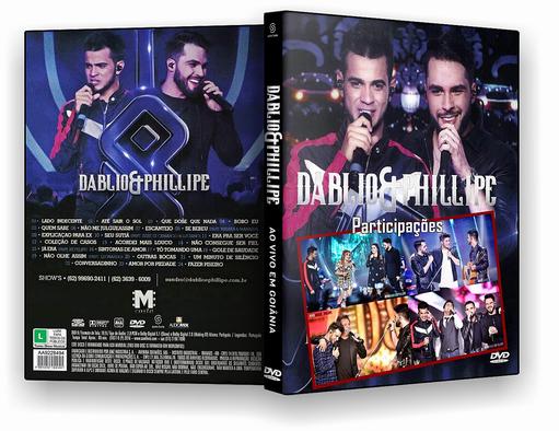 DVD-R DABLIO & PHILLIPE AO VIVO EM GOIANIA – OFICIAL