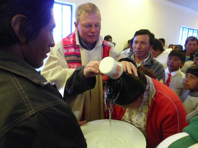 Auch einen Täufling habe ich getauft
