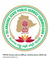 TS Horticulture Officer Model Papers 2015