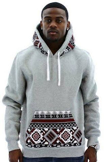 stylish african print sweatshirt