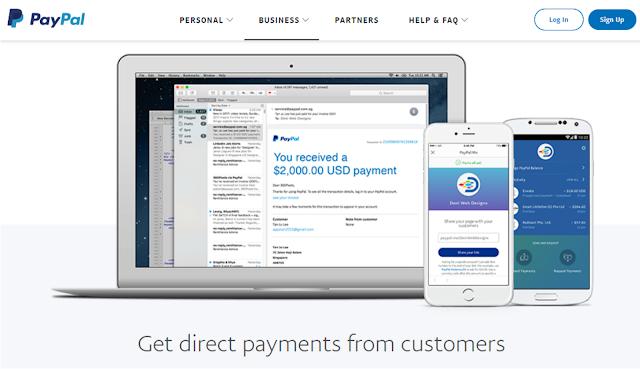 Rekening Virtual selain Paypal, Daftar Mudah dan Gratis