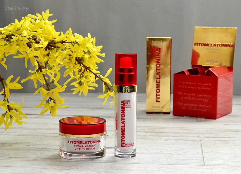 EffegiLab Fitomelatonina Biolift Serum i Vitality Cream - kosmetyki rewitalizujące zmysły i skórę! recenzja