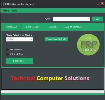 Samsung Frp HiJacker v1.0 Free Download