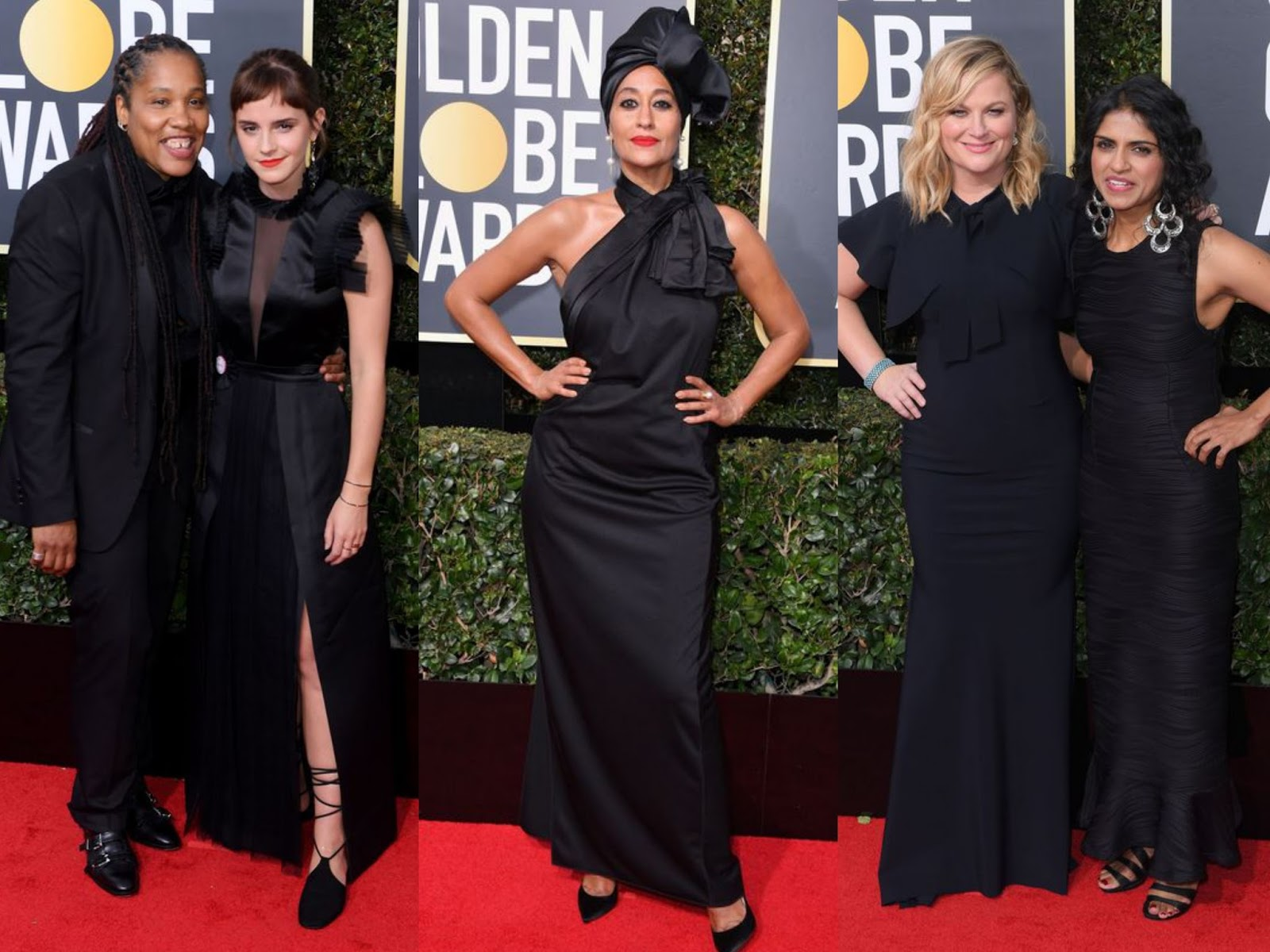 Goldenglobes 2018 Awardseason Redcarpet Allinblack Metoo Timesup Silentprotest