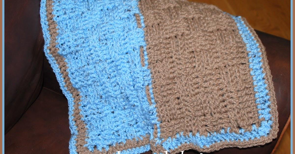 Easy Dog Blanket Knitting Pattern : Posh Pooch Designs Dog Clothes: Crochet pattern for a Dog Blanket - Basket Weave