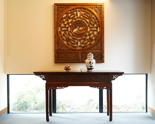 "From customers #13 ""CARVED CONSOLE TABLE w/2DRAWERS..."""