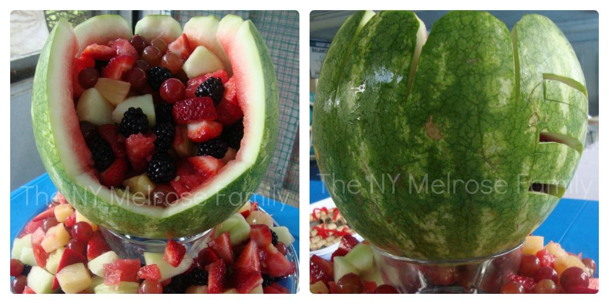 Baseball Mitt Fruit Salad Bowl The Melrose Family