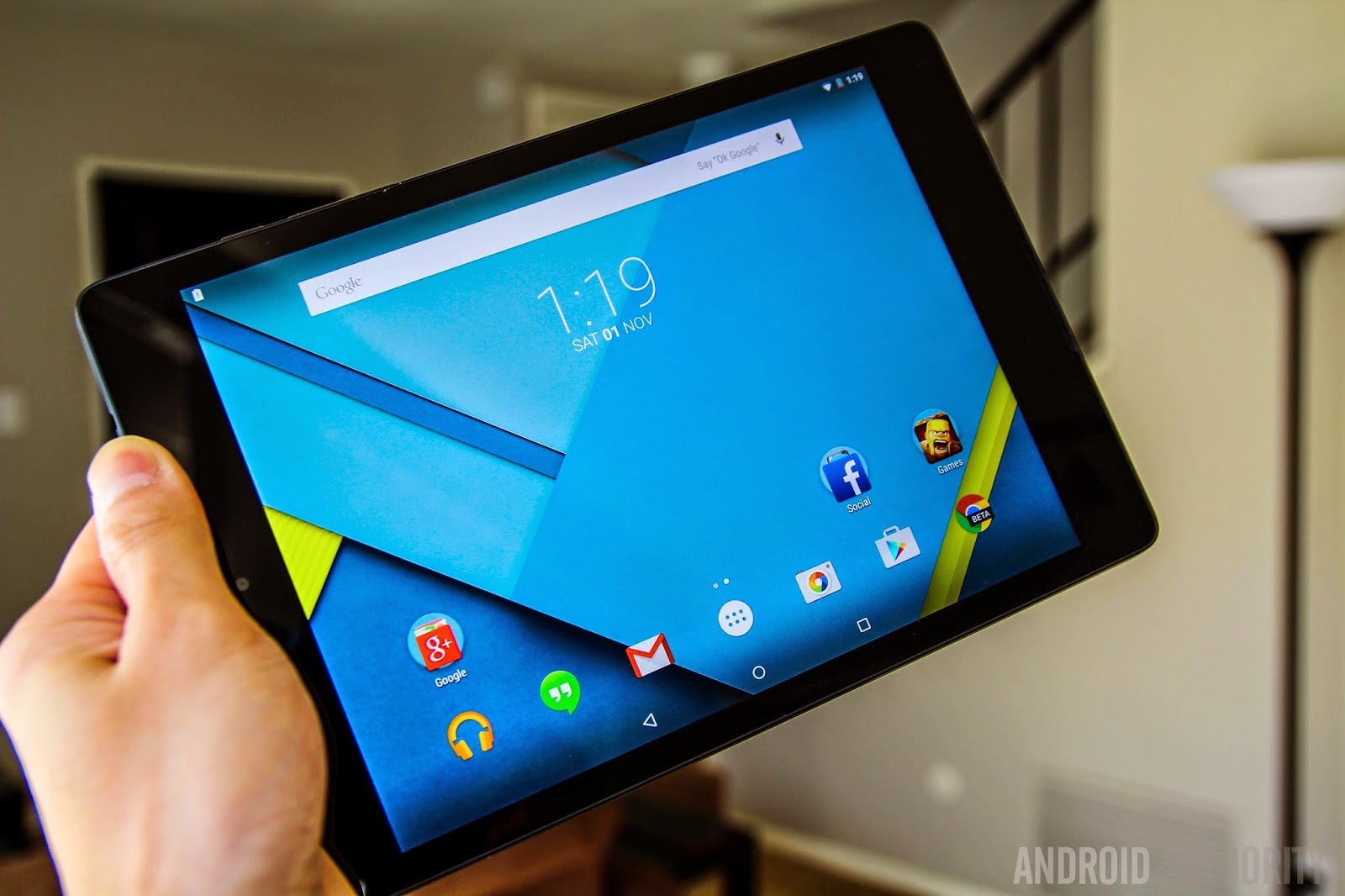 Nexus9 Android tablet