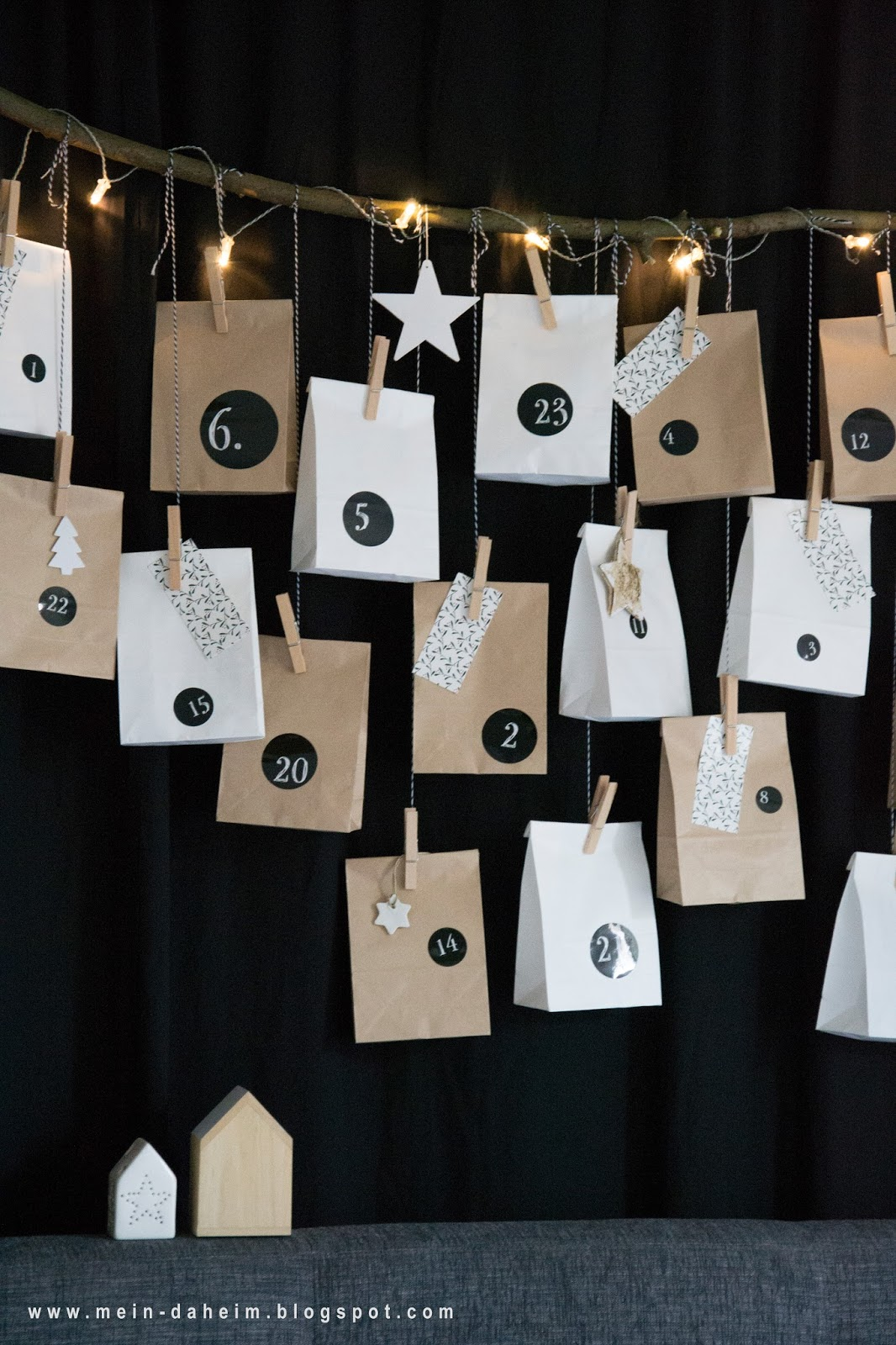 mein daheim diy adventskalender f llen. Black Bedroom Furniture Sets. Home Design Ideas