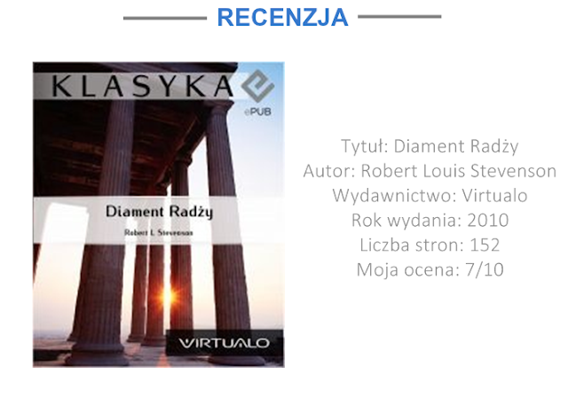 """DIAMENT RADŻY"" - ROBERT LOUIS STEVENSON 
