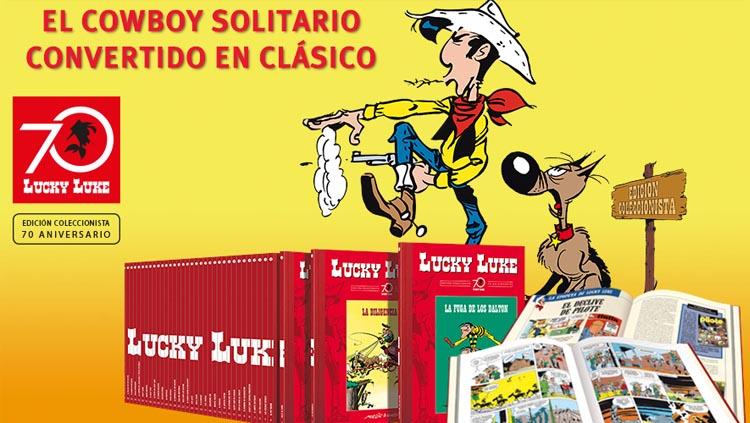 Coleccionable 70 aniversario Lucky Luke