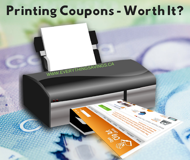 Is Printing Coupons Worth It?