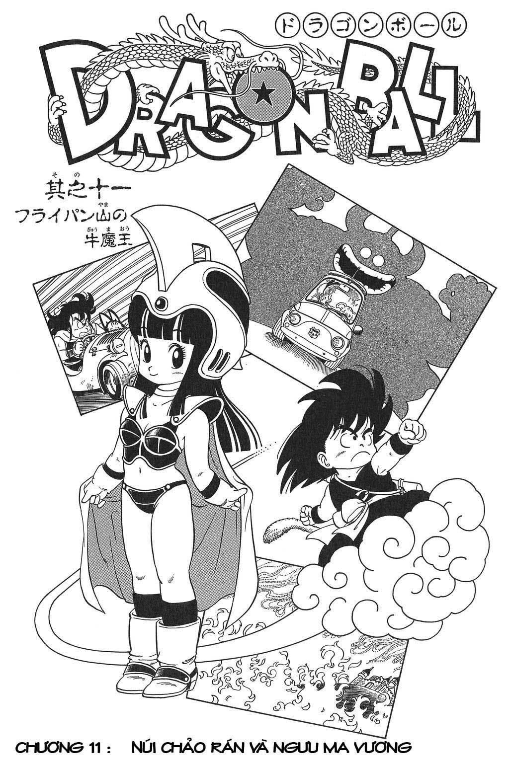 Dragon Ball chap 11 trang 1