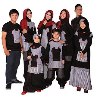 Contoh Model Baju Keluarga 2018 Couple