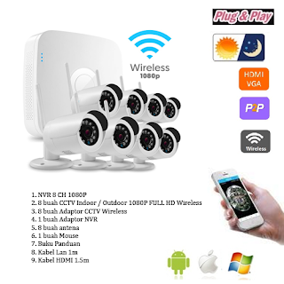 CCTV Camera Wireless Murah Kunjungi jasaonline.web.id