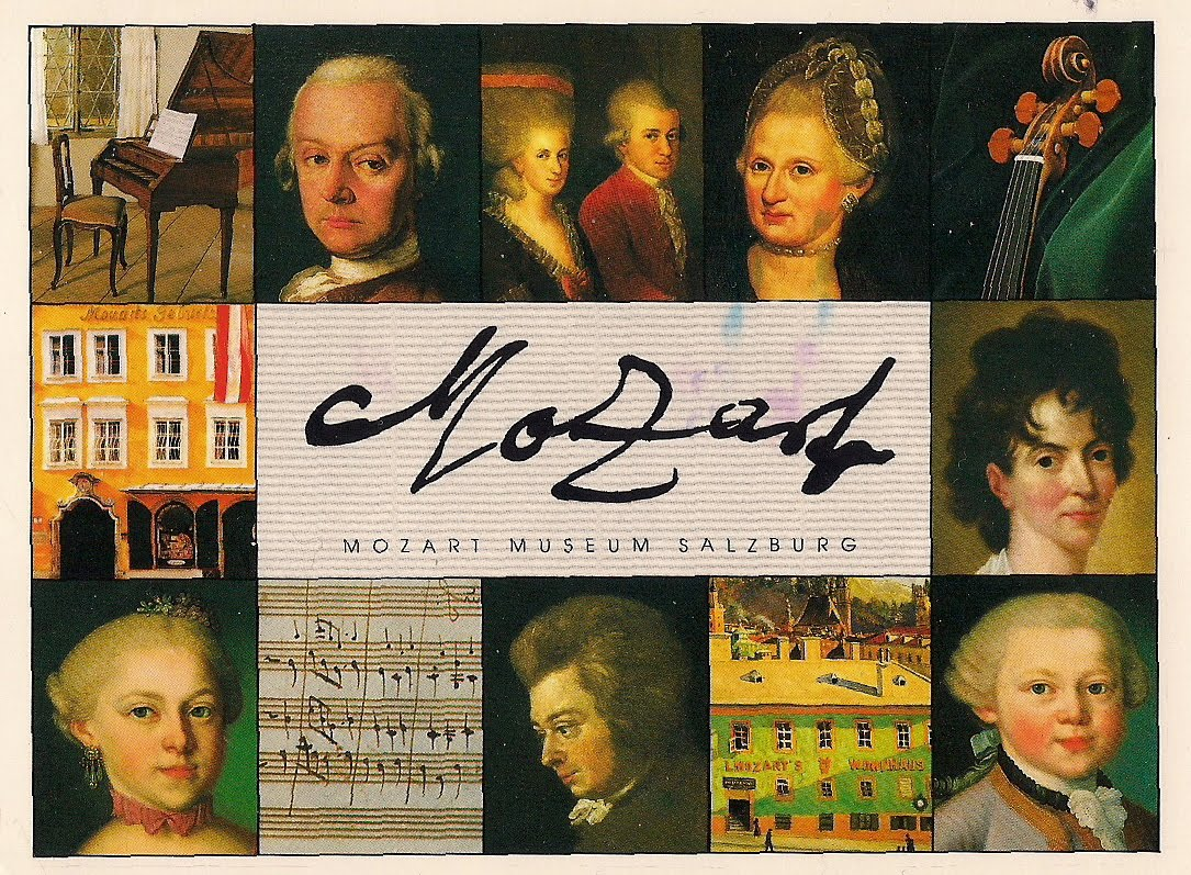 Music Sites-Opera Houses, Monuments, Statues etc: Mozart ...