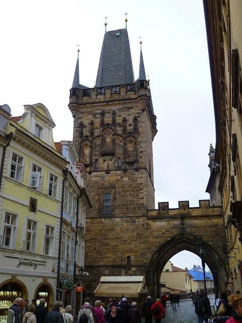 Чехия, Прага - Малостранская мостовая башня (Czech Republic, Prague - Lesser Town Bridge Tower)
