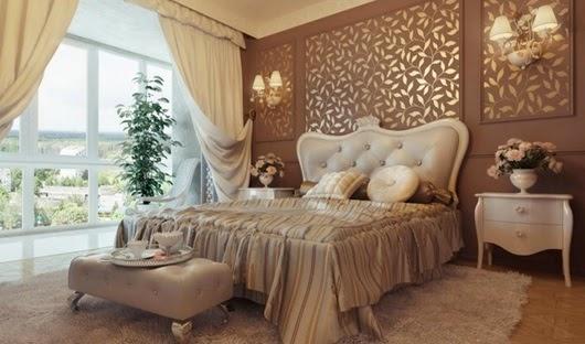 Decoraci n de dormitorios estilo cl sico ideas para Estilo clasico diseno de interiores