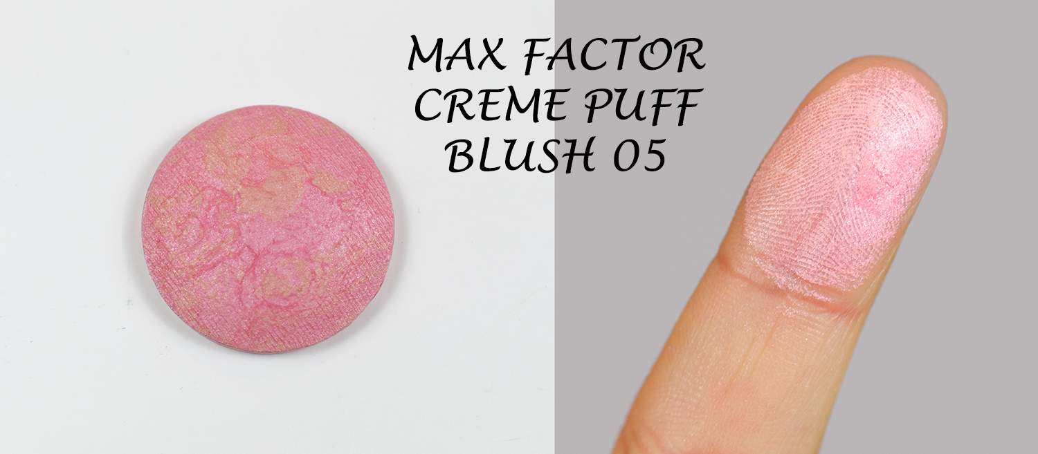 Max Factor Creme Puff Blush  05 Lovely Pink
