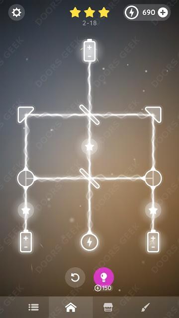 Laser Overload [Beginner] Level 2-18 Solution, Walkthrough, Cheats