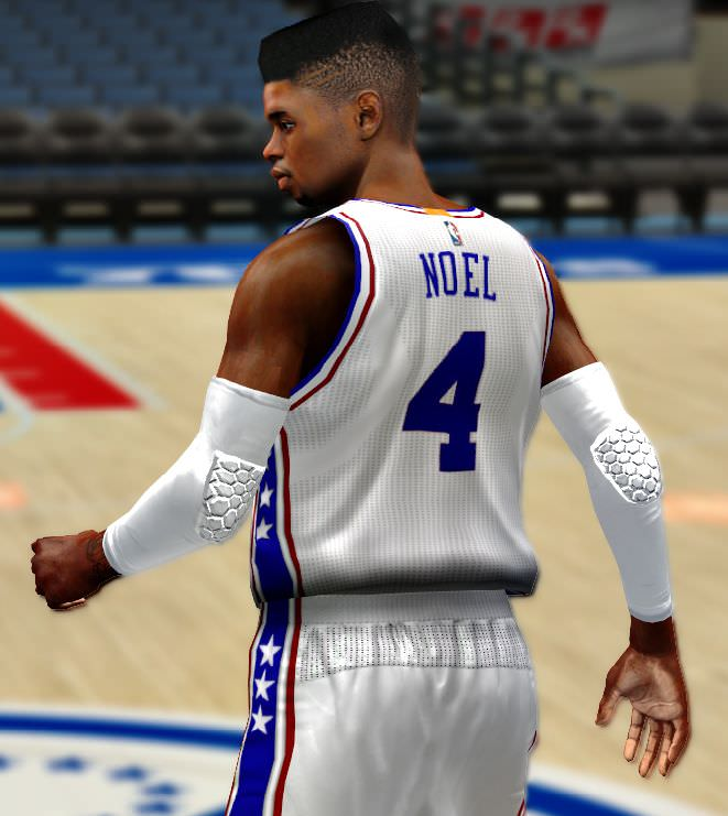 a902a110f ... NBA 2k14 Philadelphia 76ers 2016 Jersey Patch HoopsVilla.com ...