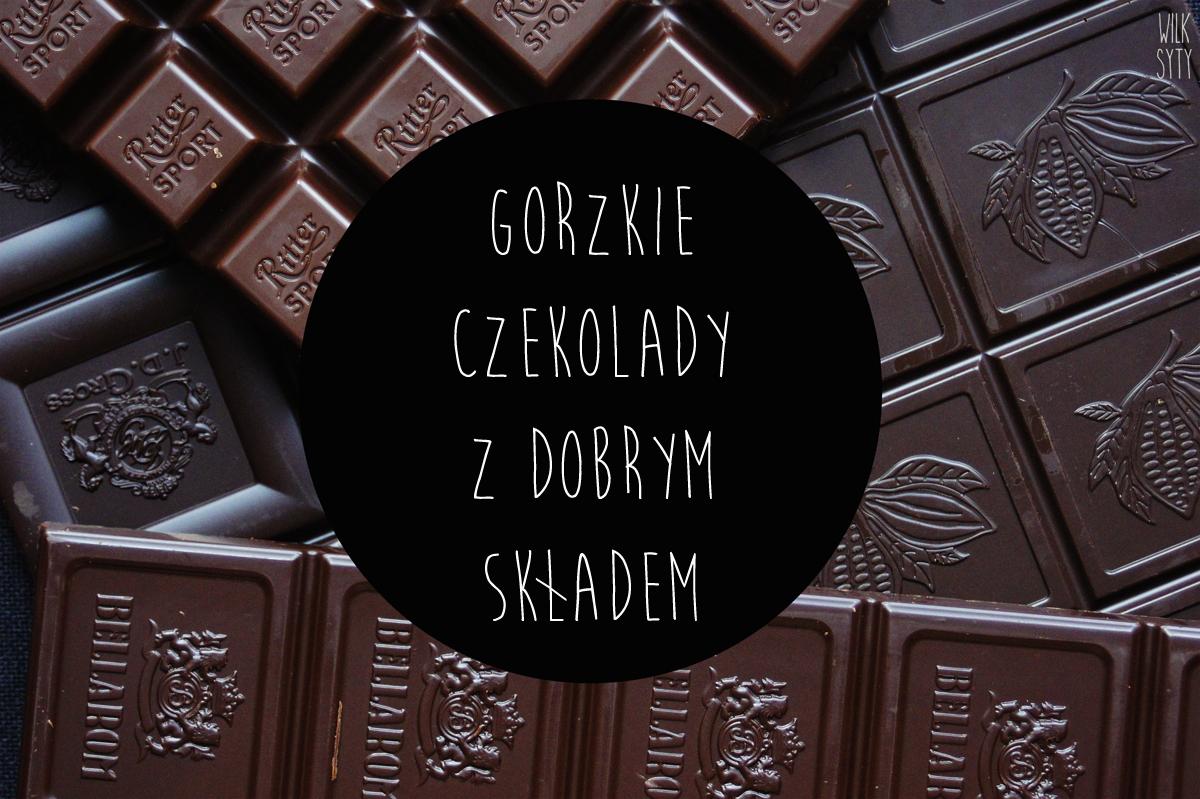 czekolada gorzka, tabliczka czekolady
