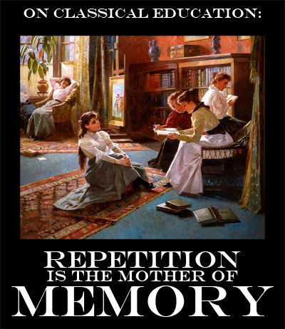 Memory work, recitation, and a classical Charlotte Mason education