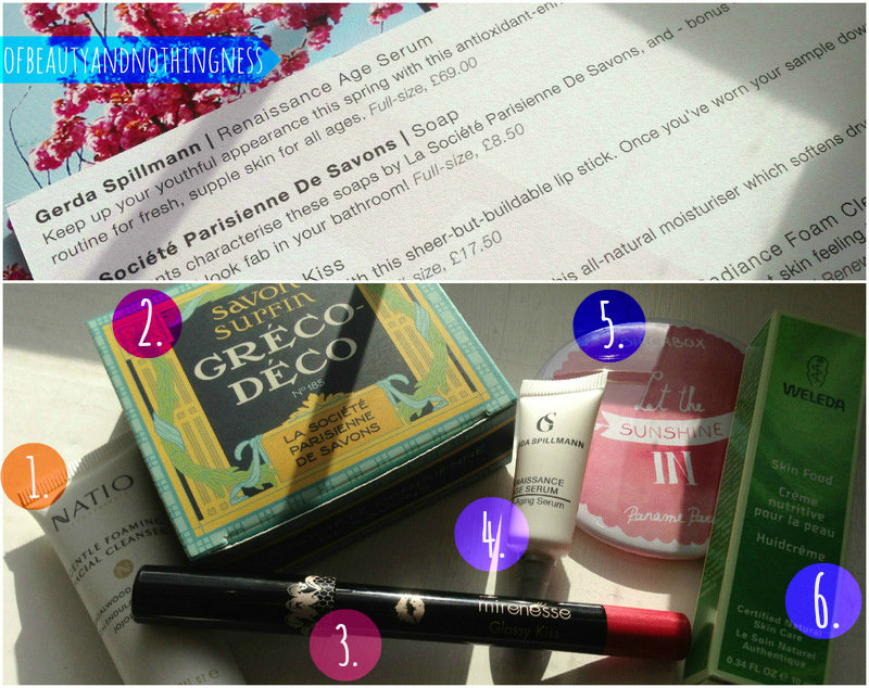 April Birchbox!