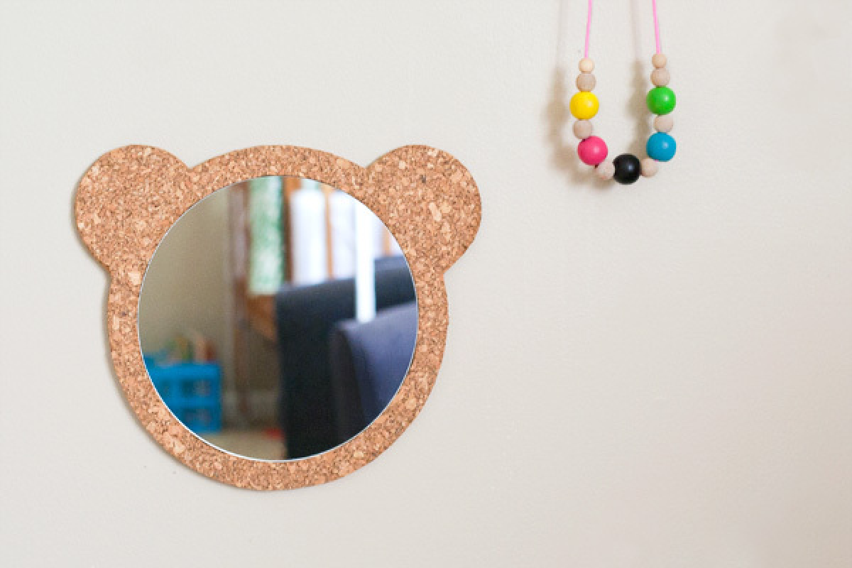 Blog achados de decora o for Mirrors for kids rooms