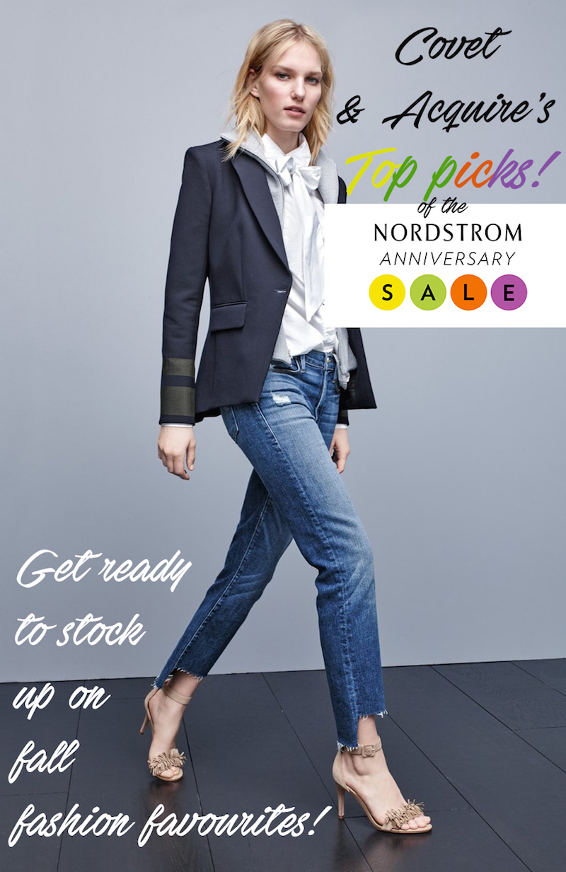 Nordstrom Anniversary Sale Vancouver fashion blogger picks Covet and acquire