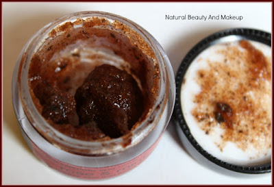 Natural Bath & Body Rose & Mint Body Polish Review on the blog Natural Beauty And Makeup