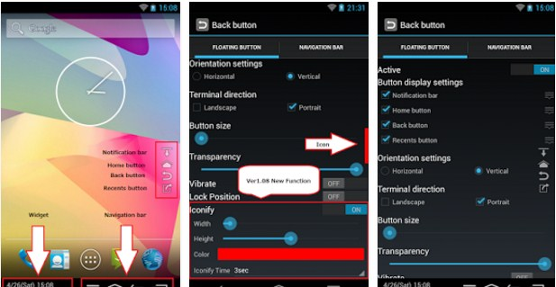 How to Add Home/Back Soft Button Keys On Android Without