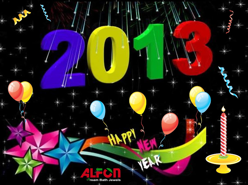 happy new year 2013 stylish wallpaper happy new year 2013 title=