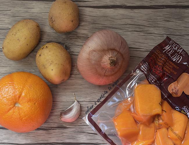 RECETA: Crema de Calabaza con naranja