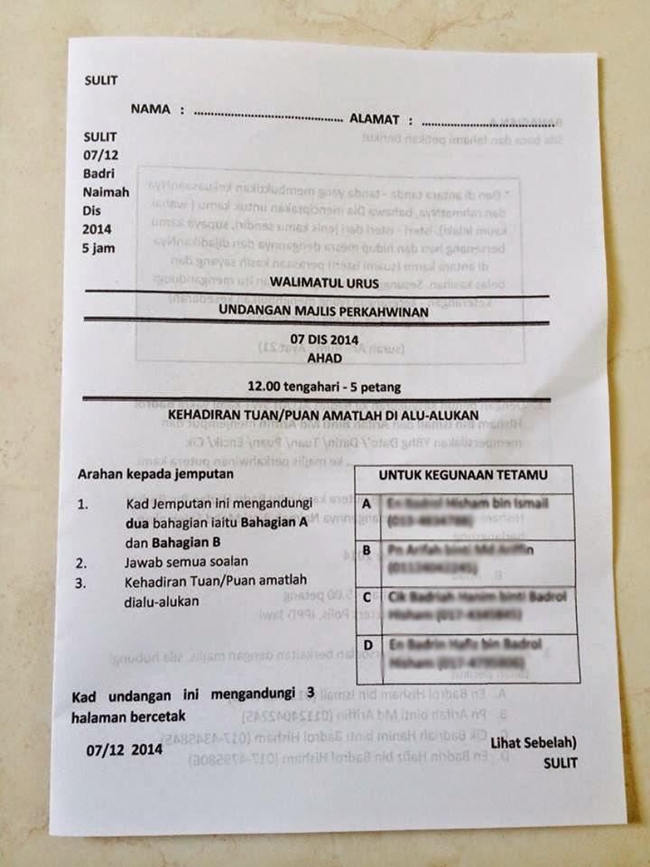 Contoh Karangan Bahasa Inggeris Pt3