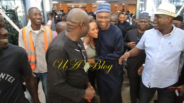 PHOTOS: Lawmakers fête arrival at National Assembly