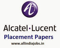 Alcatel Lucent Placement Papers