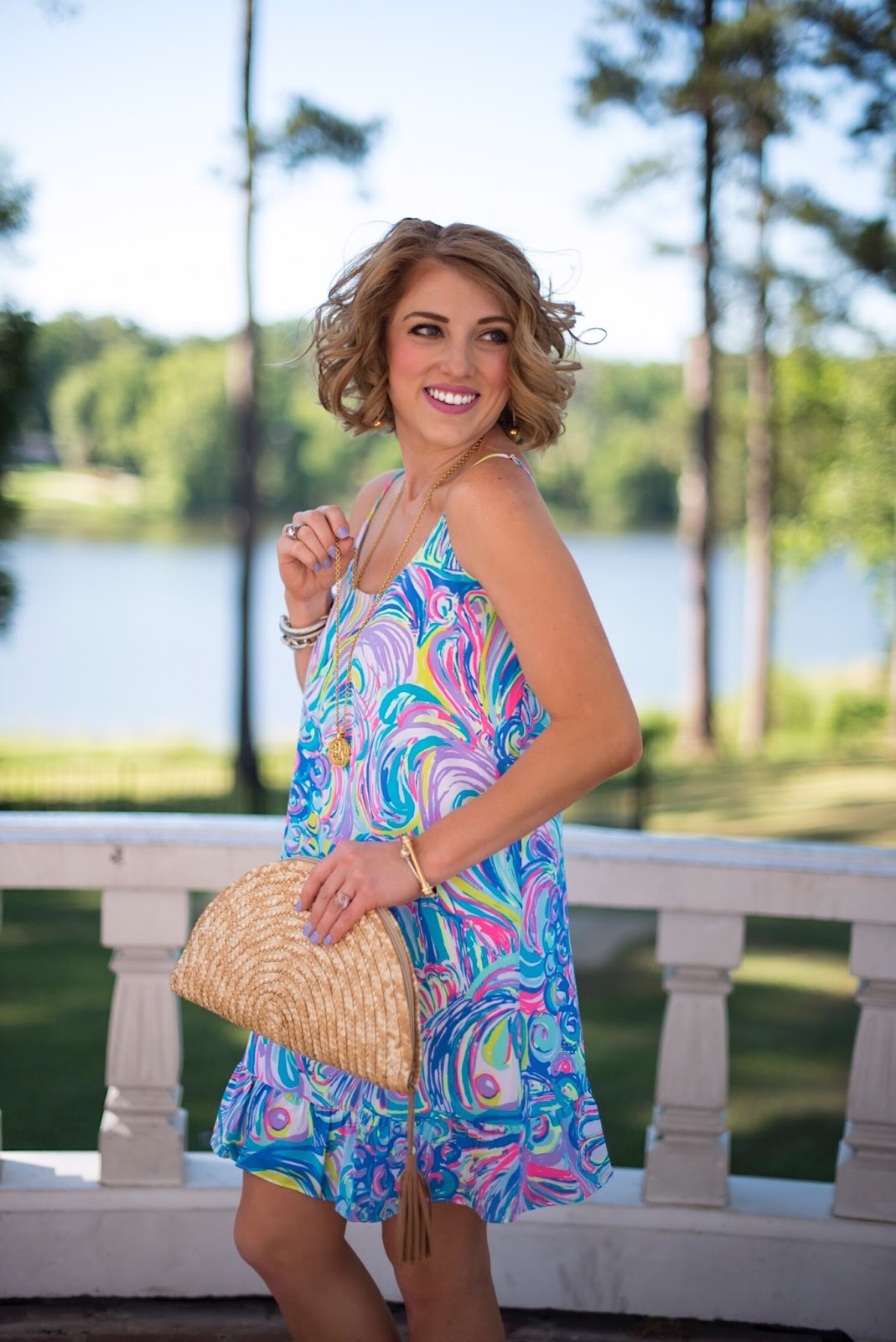 Lilly Pulitzer Zana Silk Dress - Click through to see more on Something Delightful Blog
