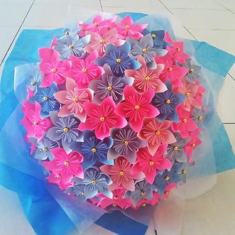 Kiki Flowers Bunga  Dari Kertas  Cara  Membuat  Bunga  Dari