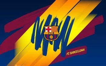 Wallpaper: Barcelona FC Logo