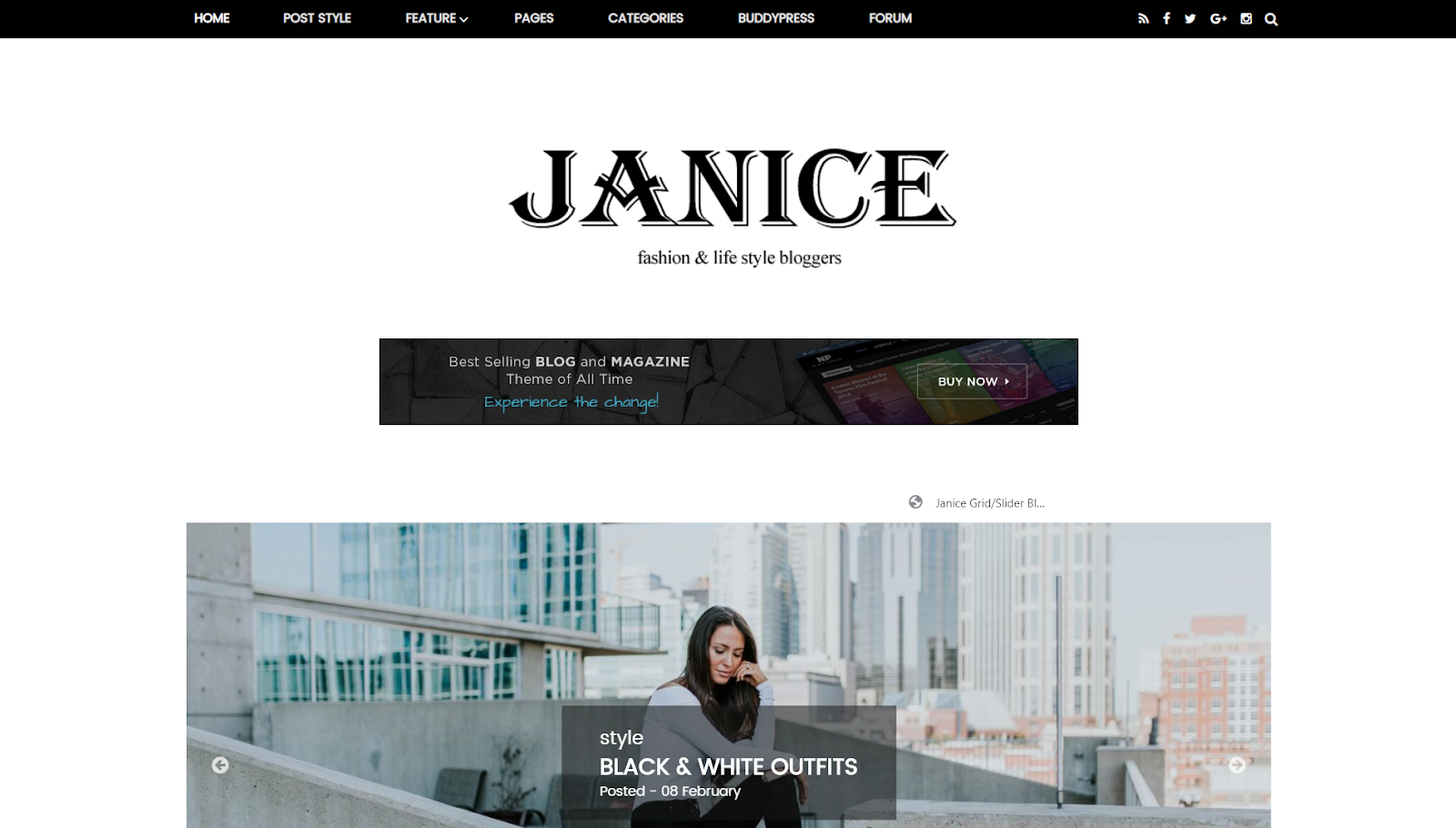 Backpack Clean & Responsive Traveling Blogger Template