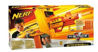Walmart Nerf N Strike Stampede Ecs 50 Blaster Just 20