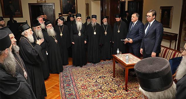#SPC #Patrijarh #Irinej #Aleksandar #Vučić #Kosovo #Metohija #Sabor #Izdaja