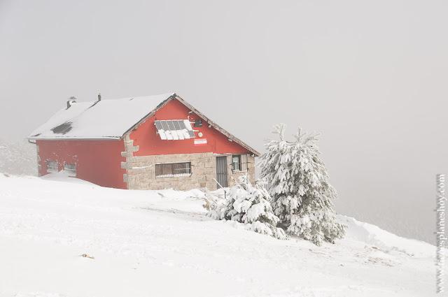 Ruta nieve Madrid Cotos Pingarrón
