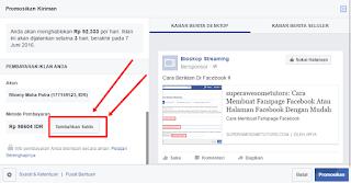 Cara Beriklan Di Facebook Atau Fb Ads Tutorial Lengkap Dengan Menggunakan ATM Bersama