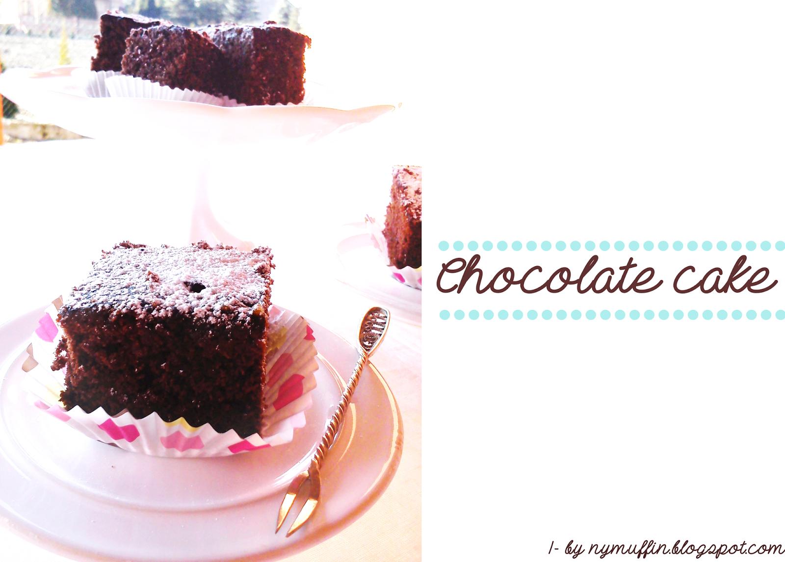 Chocolate cake ciasto czekoladowe