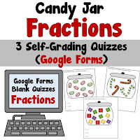 Candy Jar Fractions Dollar Deal