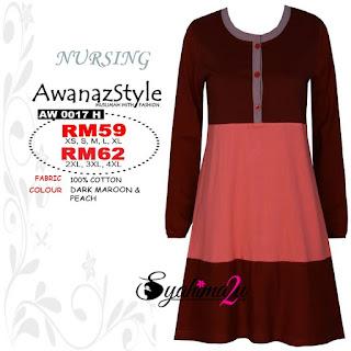 T-Shirt-Muslimah-Awanazstyle-AW0017H