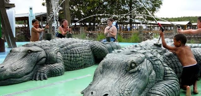 Gatorland Orlando Parque Jacares